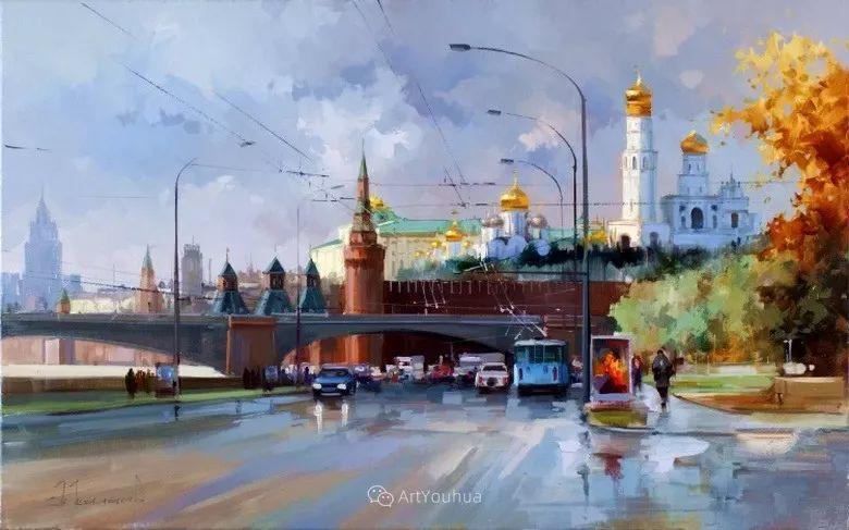 城市景观,俄罗斯艺术家阿列克谢·谢拉耶夫插图11