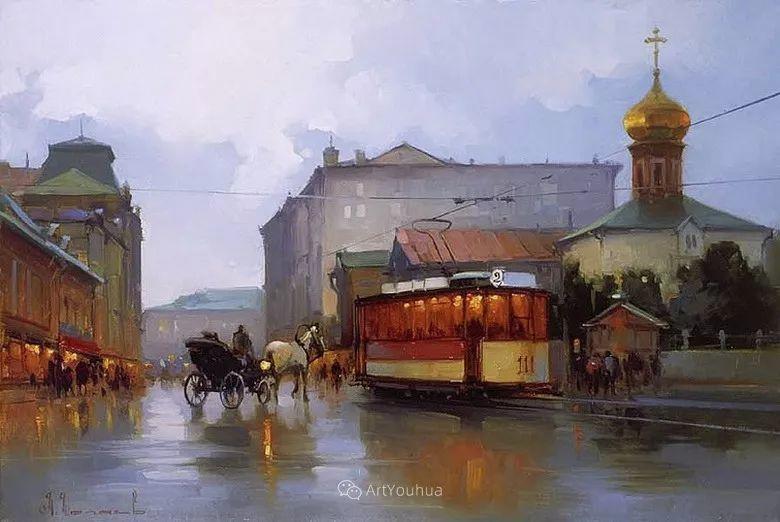 城市景观,俄罗斯艺术家阿列克谢·谢拉耶夫插图20