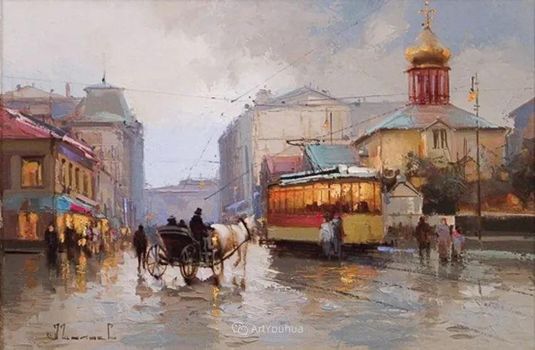 城市景观,俄罗斯艺术家阿列克谢·谢拉耶夫插图22