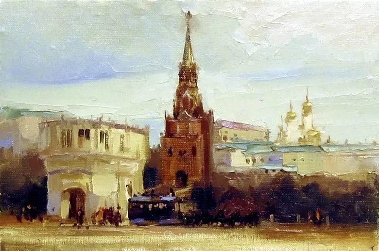 城市景观,俄罗斯艺术家阿列克谢·谢拉耶夫插图28