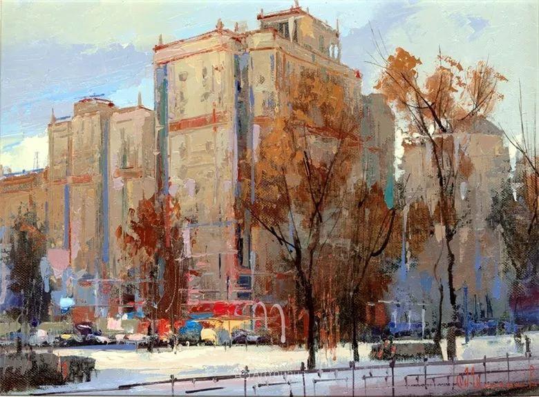 城市景观,俄罗斯艺术家阿列克谢·谢拉耶夫插图29