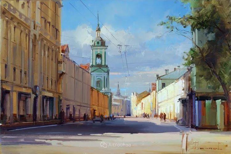 城市景观,俄罗斯艺术家阿列克谢·谢拉耶夫插图31