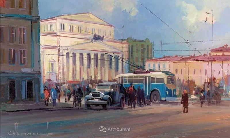 城市景观,俄罗斯艺术家阿列克谢·谢拉耶夫插图36