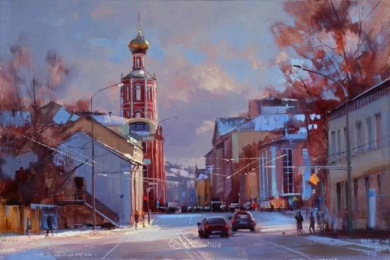 城市景观,俄罗斯艺术家阿列克谢·谢拉耶夫插图38