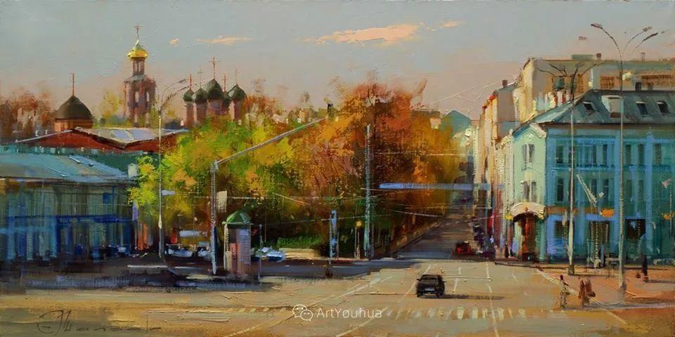 城市景观,俄罗斯艺术家阿列克谢·谢拉耶夫插图42