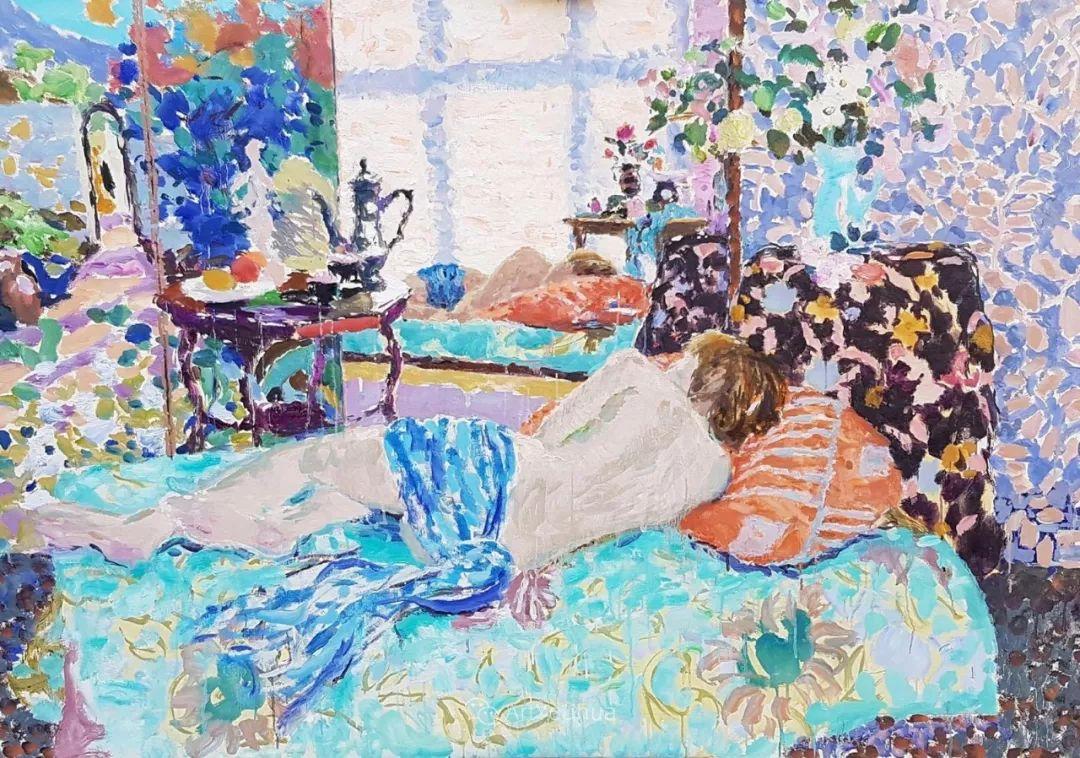 色彩和阳光的交响曲,英国著名浪漫主义画家:雨果·格伦维尔 150幅插图