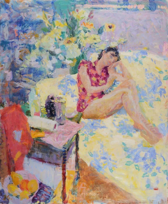 色彩和阳光的交响曲,英国著名浪漫主义画家:雨果·格伦维尔 150幅插图9