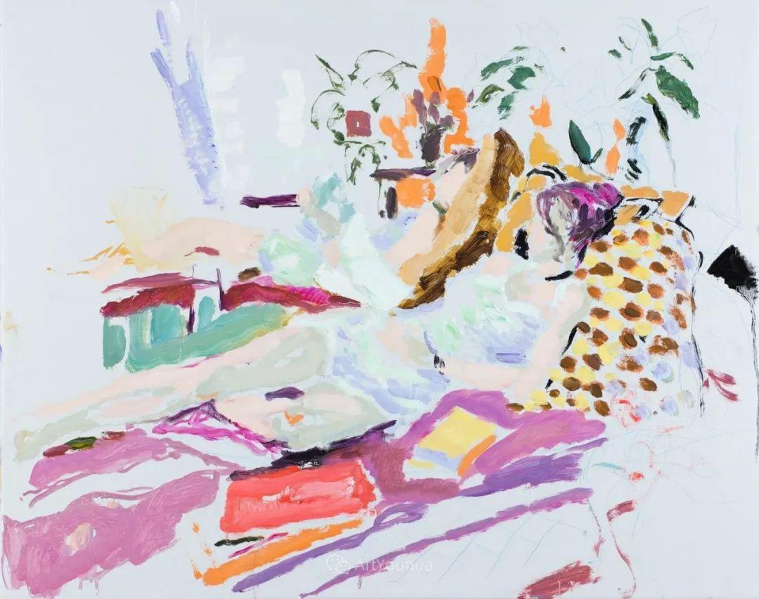 色彩和阳光的交响曲,英国著名浪漫主义画家:雨果·格伦维尔 150幅插图13
