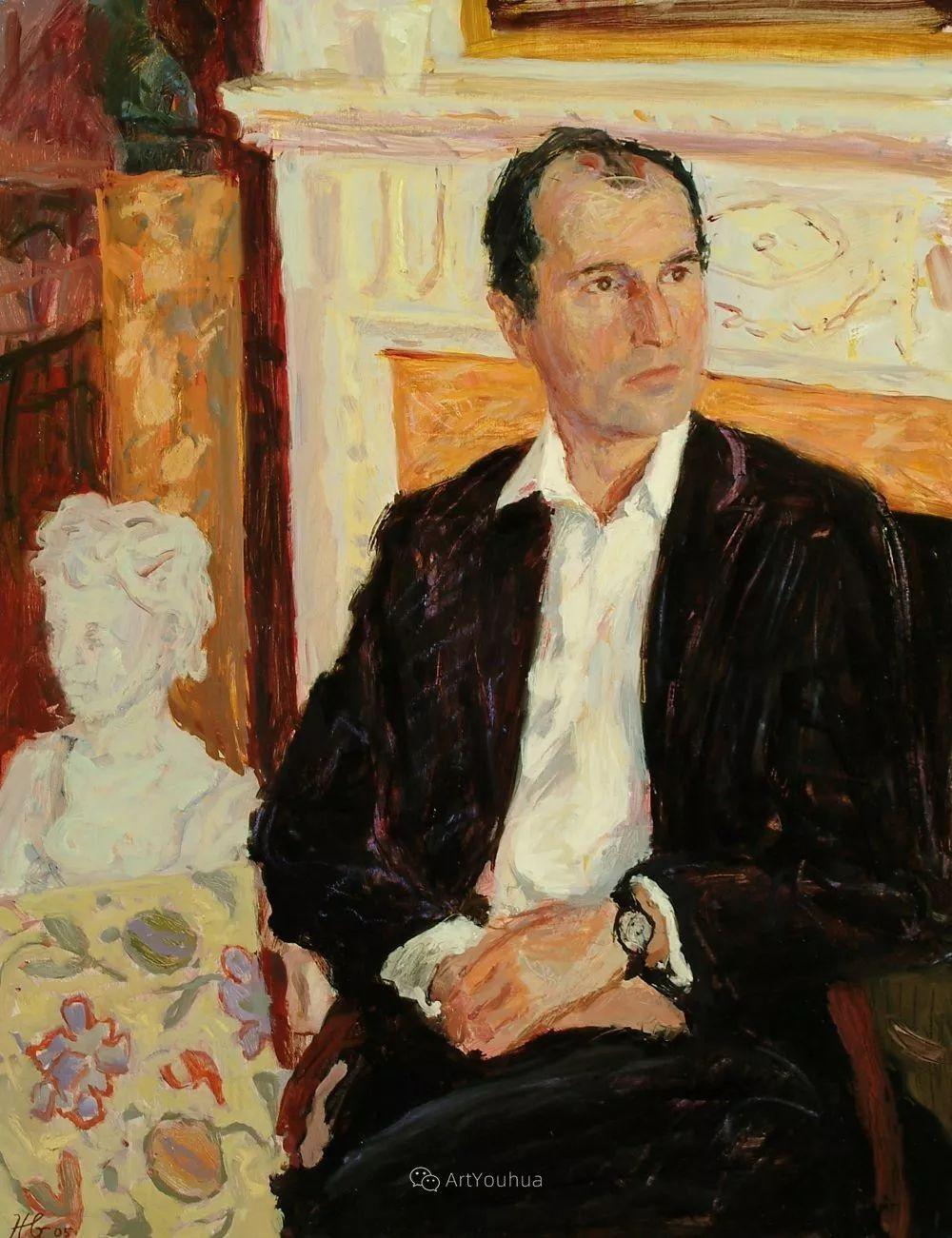 色彩和阳光的交响曲,英国著名浪漫主义画家:雨果·格伦维尔 150幅插图29