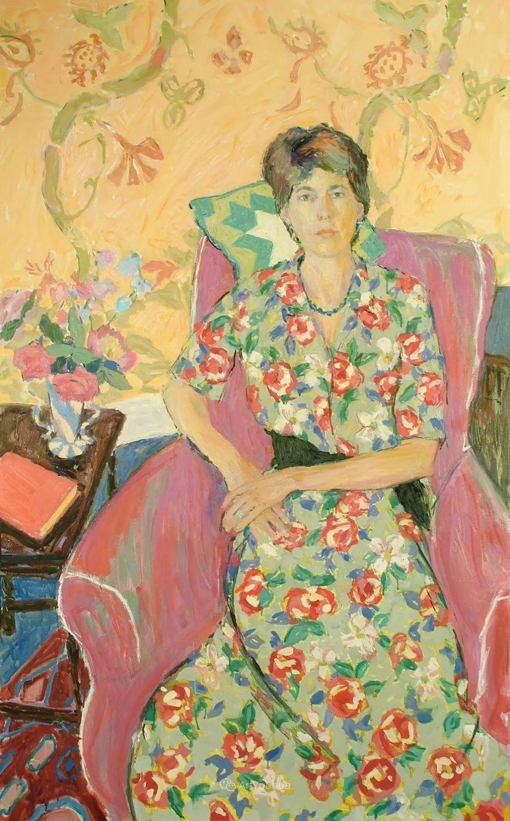 色彩和阳光的交响曲,英国著名浪漫主义画家:雨果·格伦维尔 150幅插图31