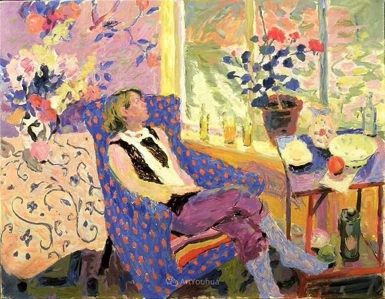 色彩和阳光的交响曲,英国著名浪漫主义画家:雨果·格伦维尔 150幅插图50