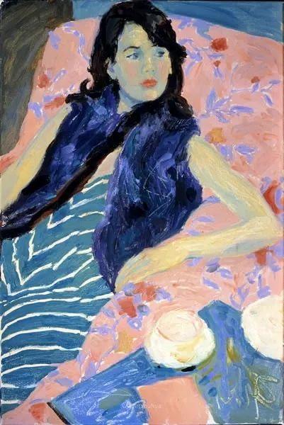色彩和阳光的交响曲,英国著名浪漫主义画家:雨果·格伦维尔 150幅插图57