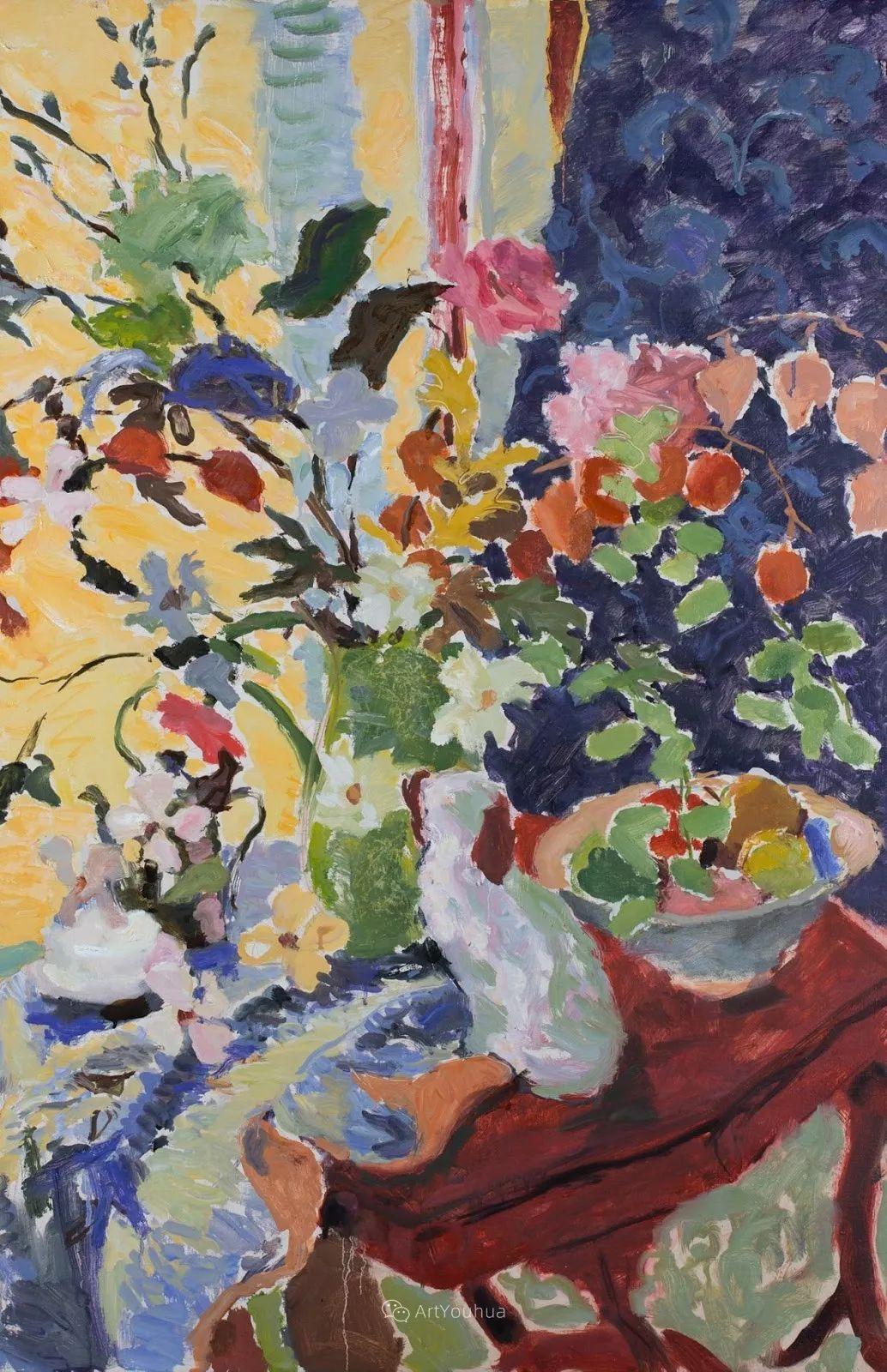 色彩和阳光的交响曲,英国著名浪漫主义画家:雨果·格伦维尔 150幅插图63