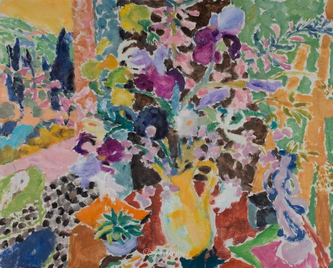 色彩和阳光的交响曲,英国著名浪漫主义画家:雨果·格伦维尔 150幅插图68