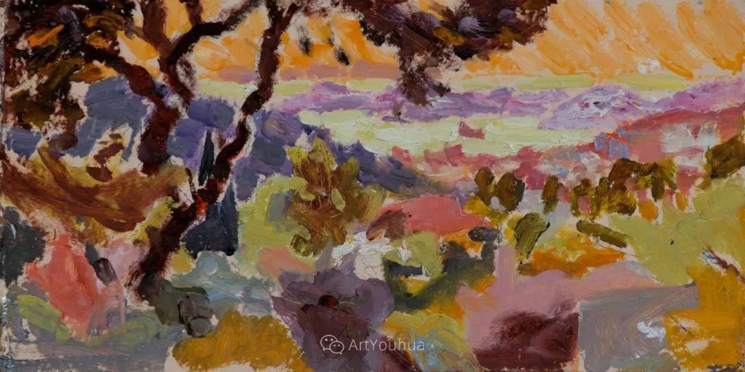 色彩和阳光的交响曲,英国著名浪漫主义画家:雨果·格伦维尔 150幅插图69