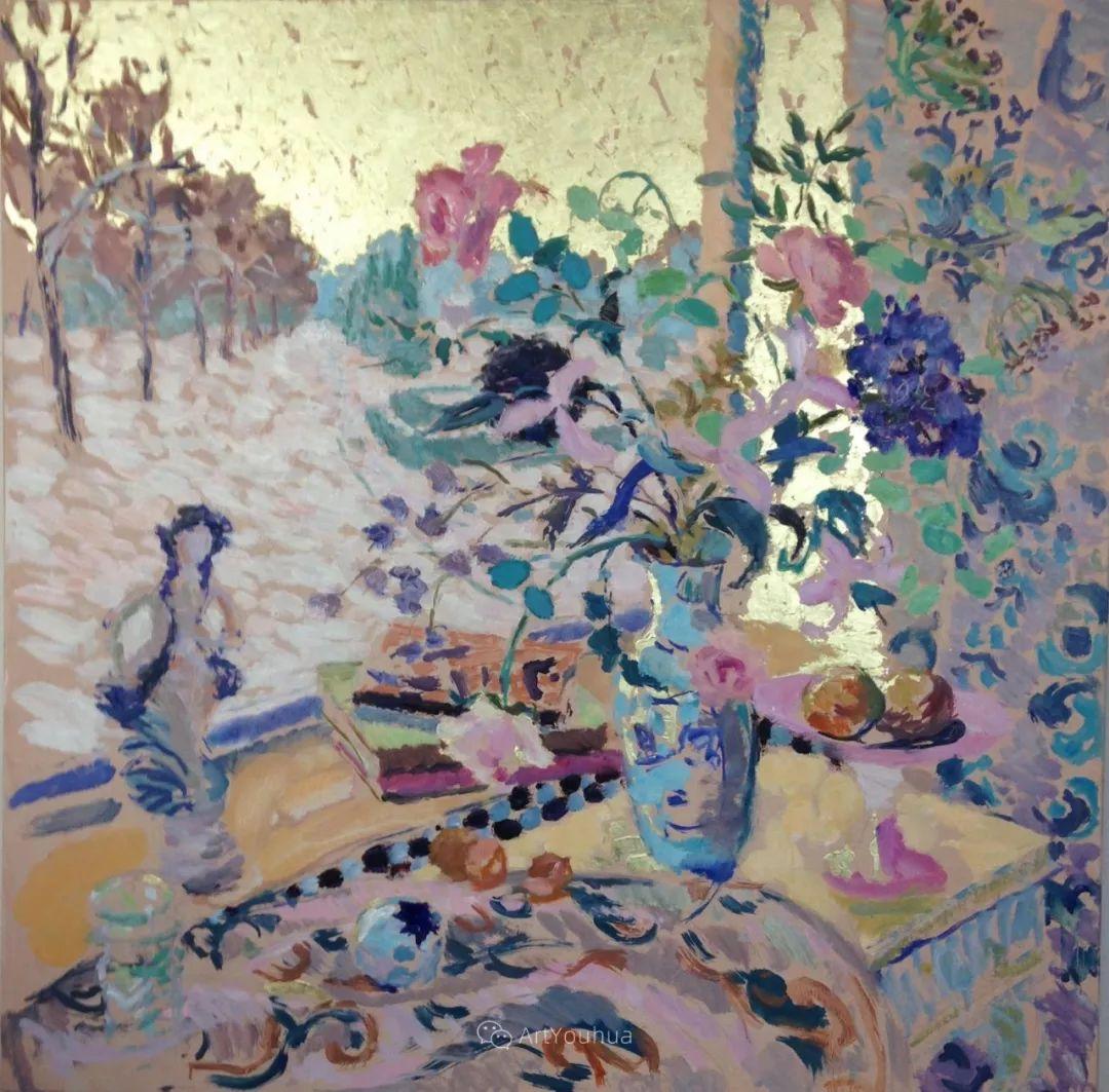 色彩和阳光的交响曲,英国著名浪漫主义画家:雨果·格伦维尔 150幅插图70