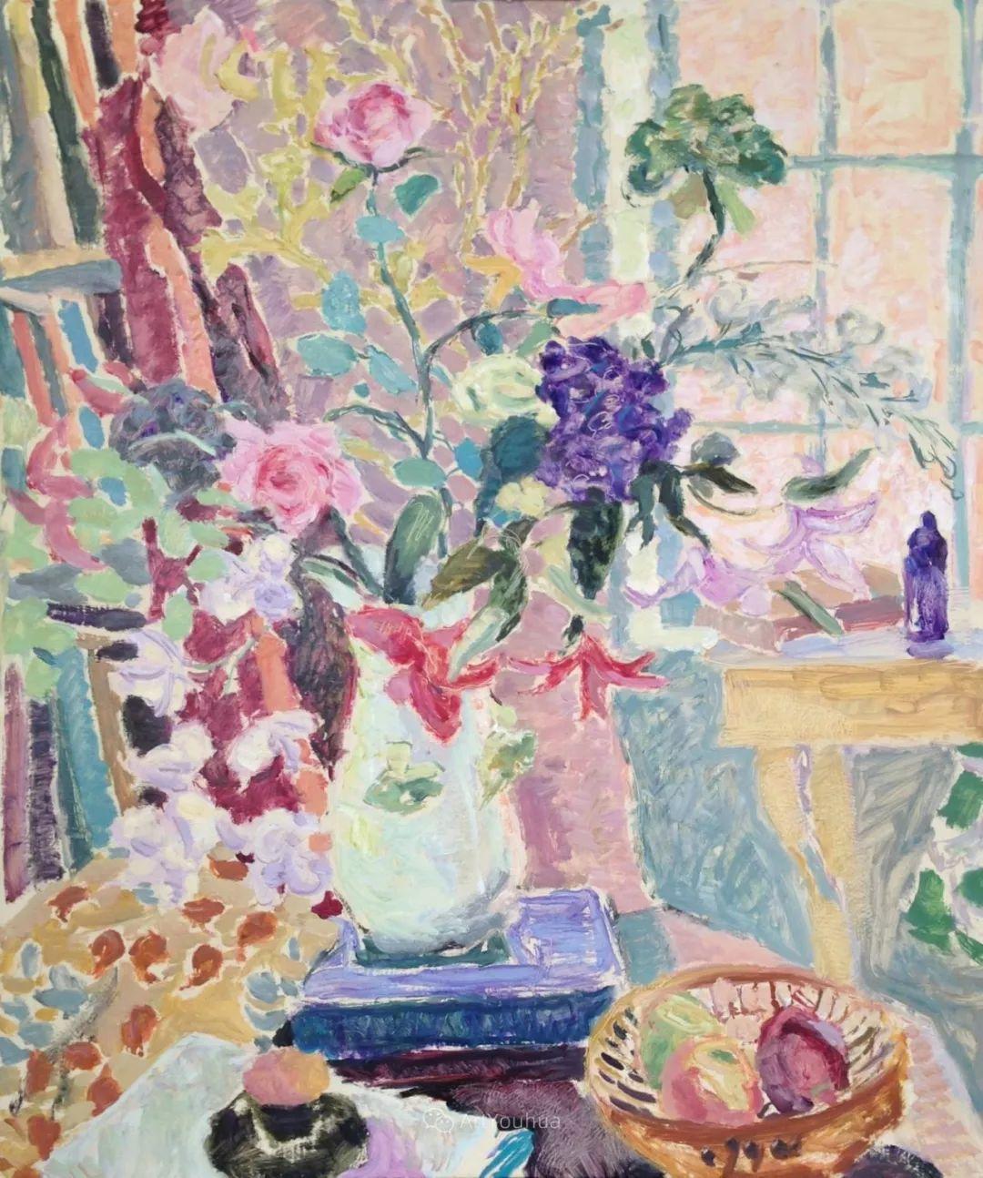 色彩和阳光的交响曲,英国著名浪漫主义画家:雨果·格伦维尔 150幅插图71
