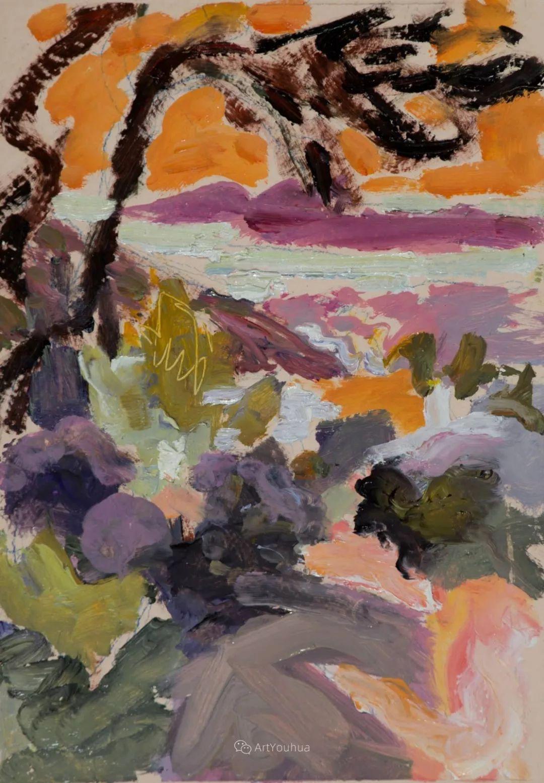色彩和阳光的交响曲,英国著名浪漫主义画家:雨果·格伦维尔 150幅插图87