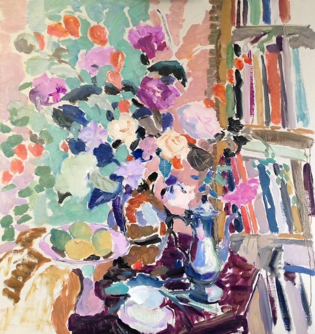 色彩和阳光的交响曲,英国著名浪漫主义画家:雨果·格伦维尔 150幅插图95