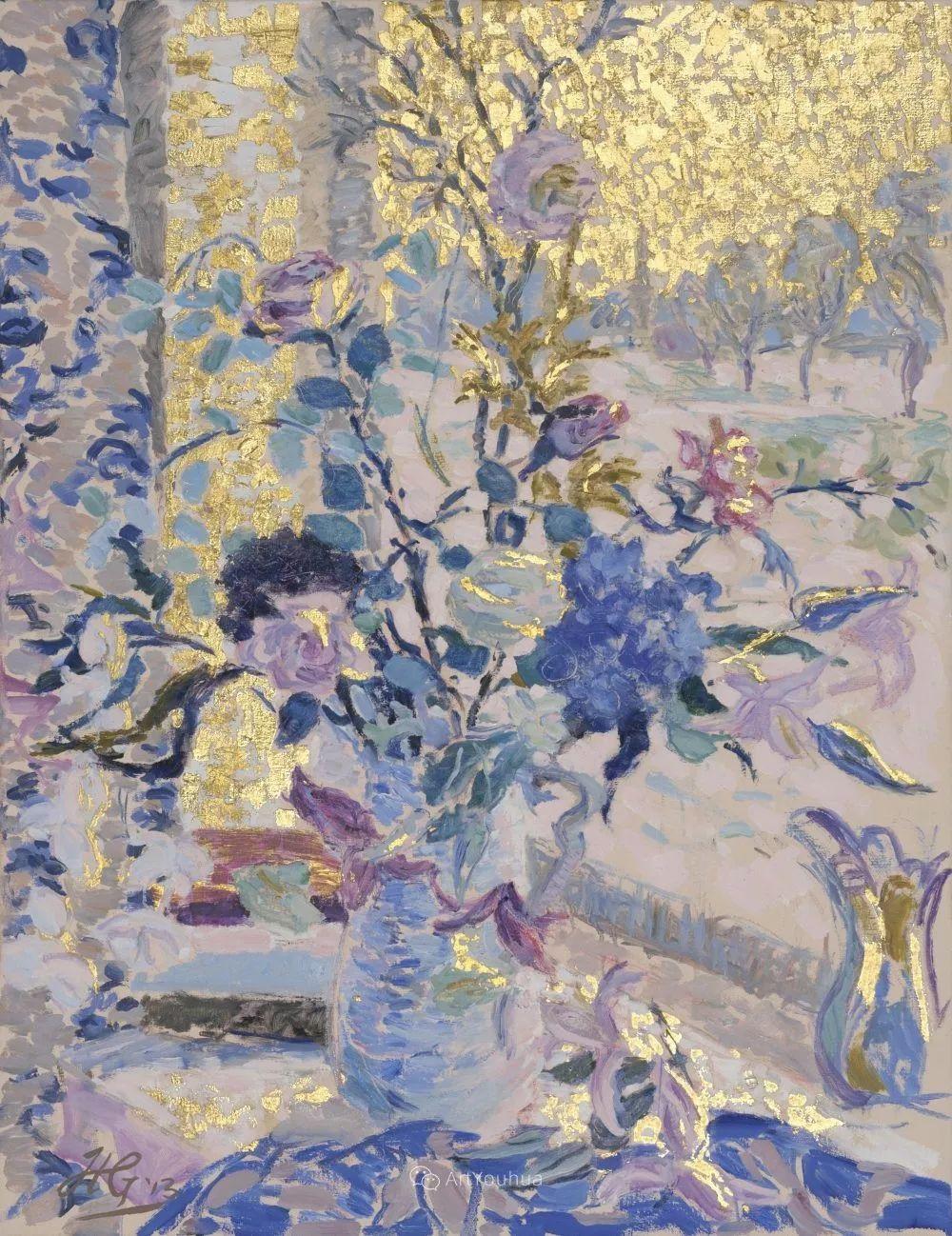 色彩和阳光的交响曲,英国著名浪漫主义画家:雨果·格伦维尔 150幅插图99