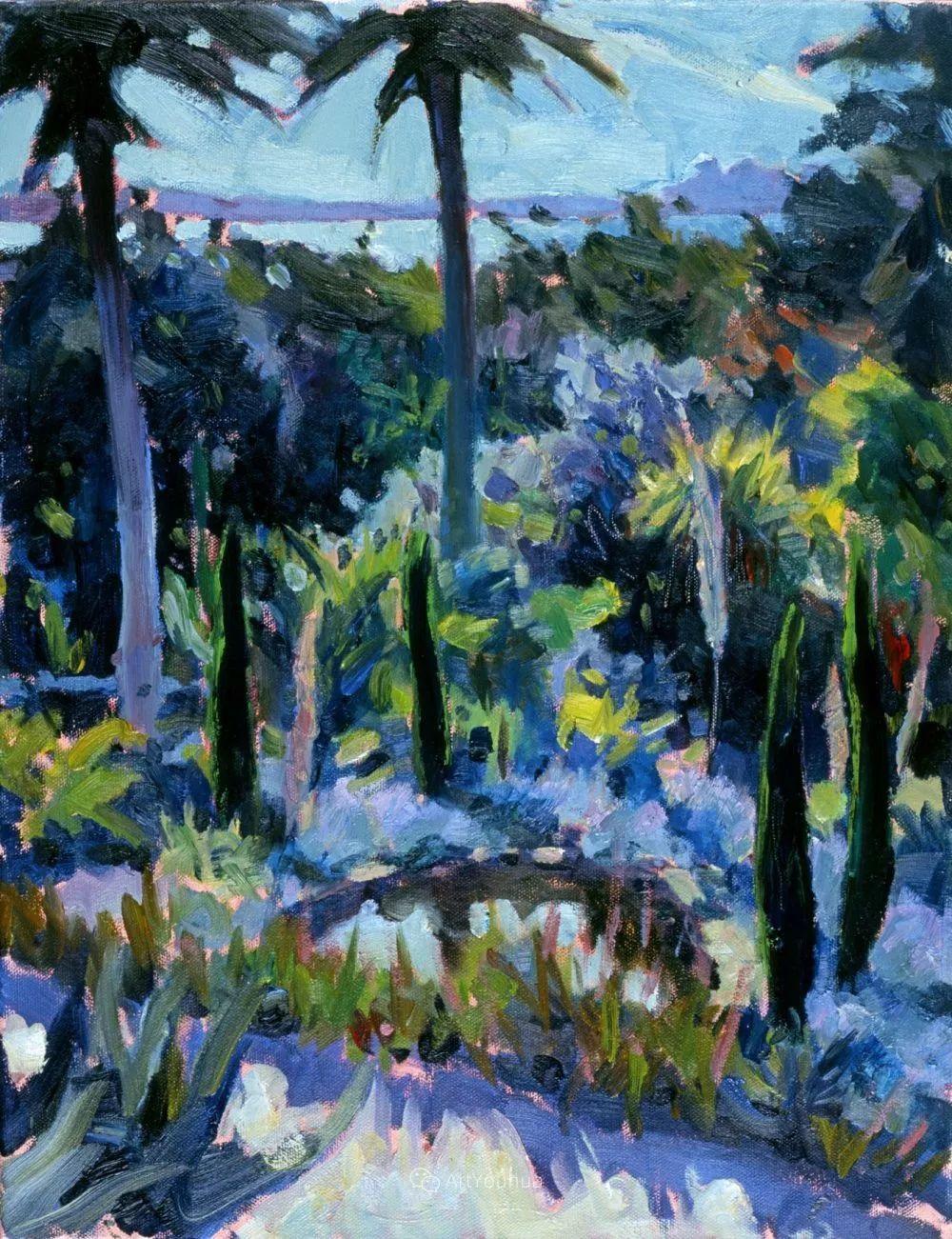 色彩和阳光的交响曲,英国著名浪漫主义画家:雨果·格伦维尔 150幅插图100