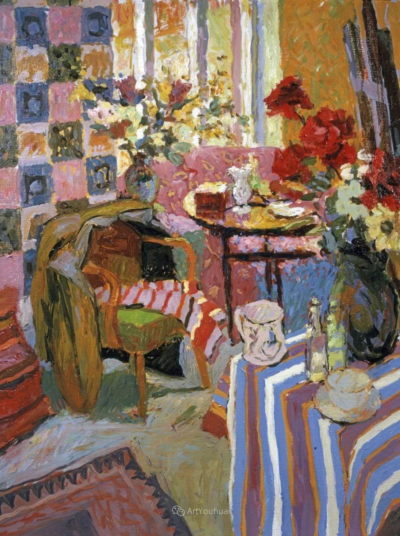 色彩和阳光的交响曲,英国著名浪漫主义画家:雨果·格伦维尔 150幅插图104