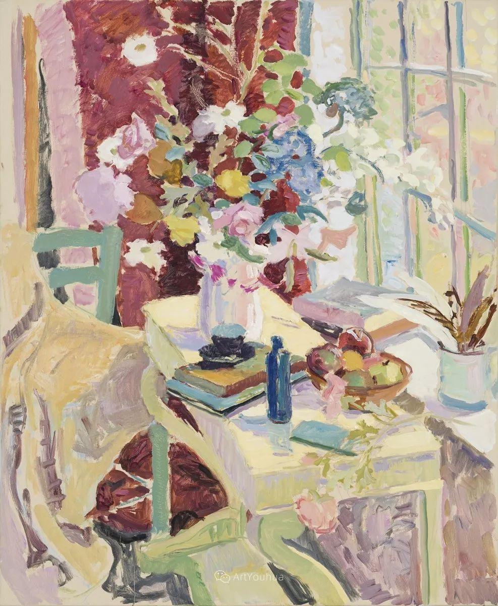 色彩和阳光的交响曲,英国著名浪漫主义画家:雨果·格伦维尔 150幅插图108