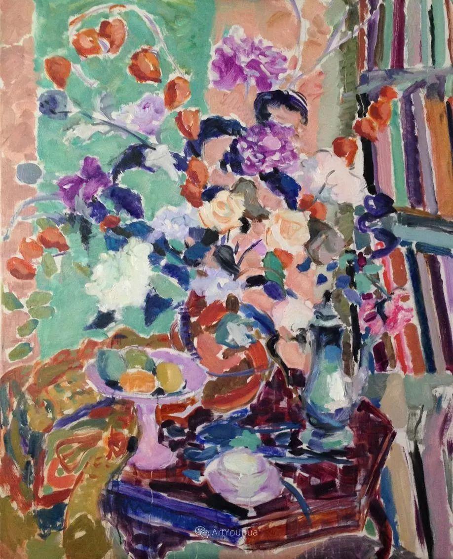 色彩和阳光的交响曲,英国著名浪漫主义画家:雨果·格伦维尔 150幅插图109
