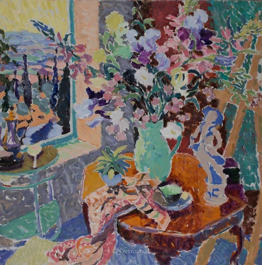 色彩和阳光的交响曲,英国著名浪漫主义画家:雨果·格伦维尔 150幅插图113