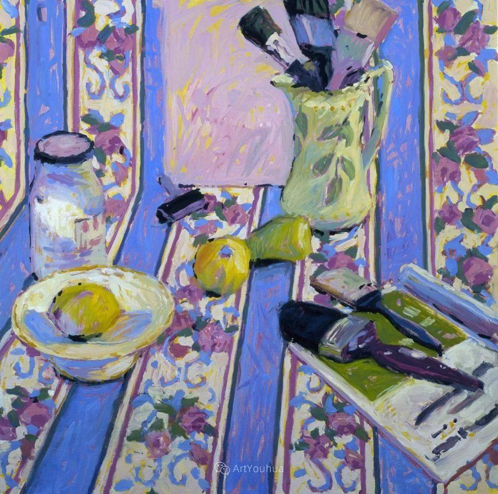 色彩和阳光的交响曲,英国著名浪漫主义画家:雨果·格伦维尔 150幅插图116