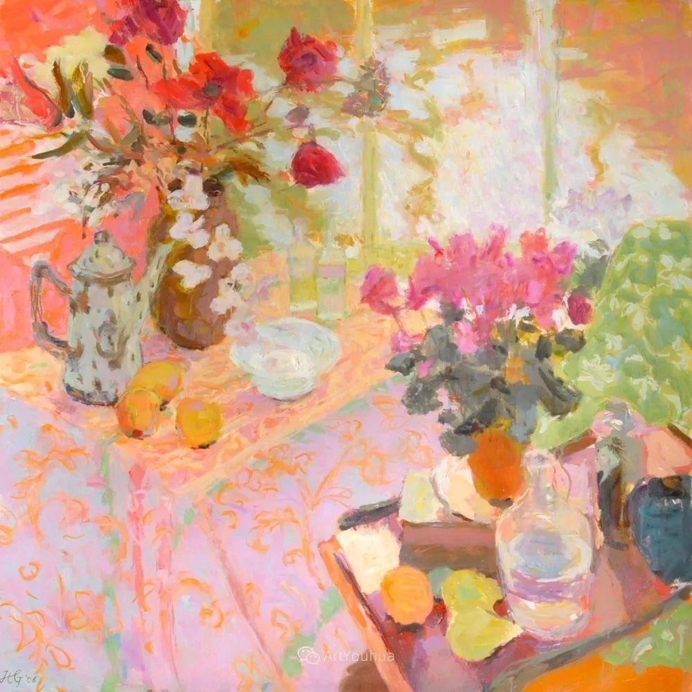 色彩和阳光的交响曲,英国著名浪漫主义画家:雨果·格伦维尔 150幅插图118
