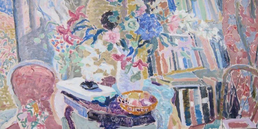 色彩和阳光的交响曲,英国著名浪漫主义画家:雨果·格伦维尔 150幅插图121