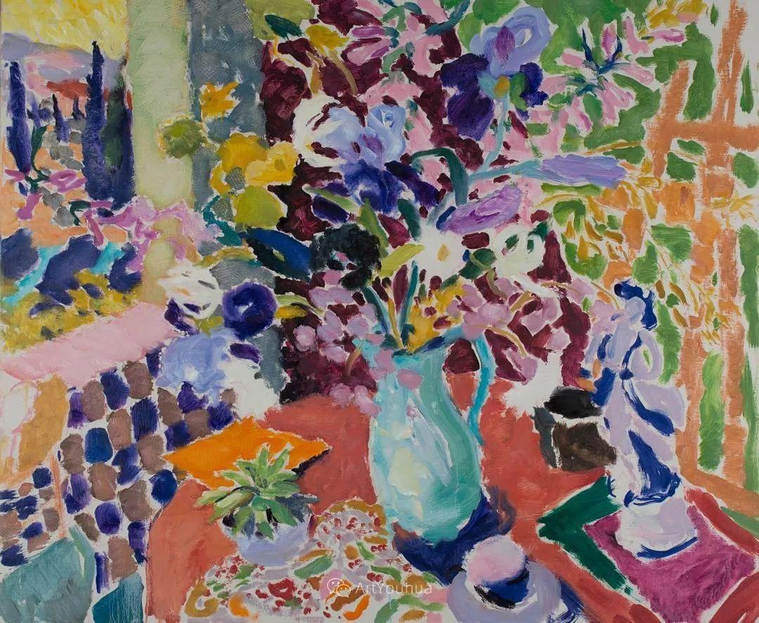 色彩和阳光的交响曲,英国著名浪漫主义画家:雨果·格伦维尔 150幅插图123