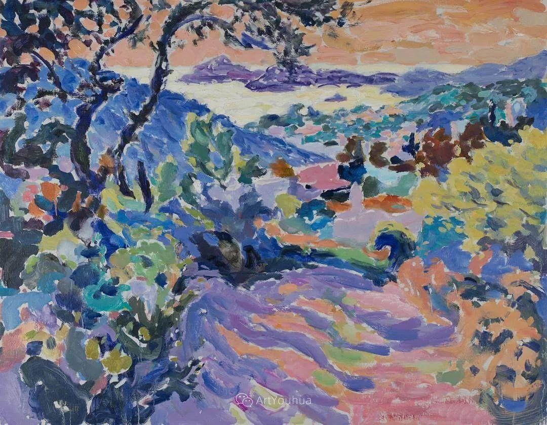 色彩和阳光的交响曲,英国著名浪漫主义画家:雨果·格伦维尔 150幅插图124