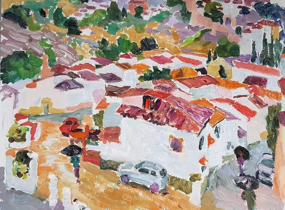 色彩和阳光的交响曲,英国著名浪漫主义画家:雨果·格伦维尔 150幅插图125