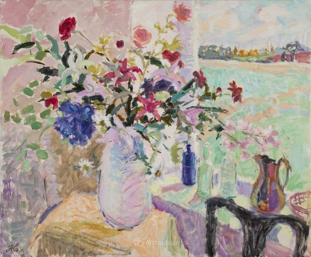色彩和阳光的交响曲,英国著名浪漫主义画家:雨果·格伦维尔 150幅插图132