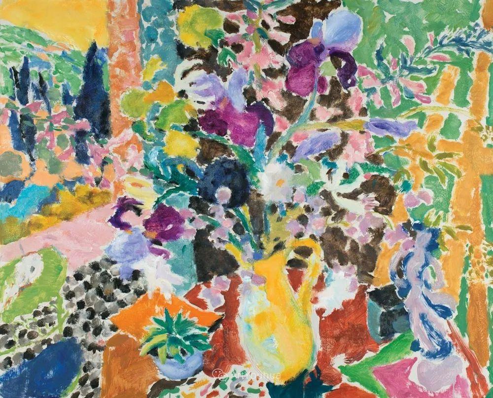 色彩和阳光的交响曲,英国著名浪漫主义画家:雨果·格伦维尔 150幅插图133