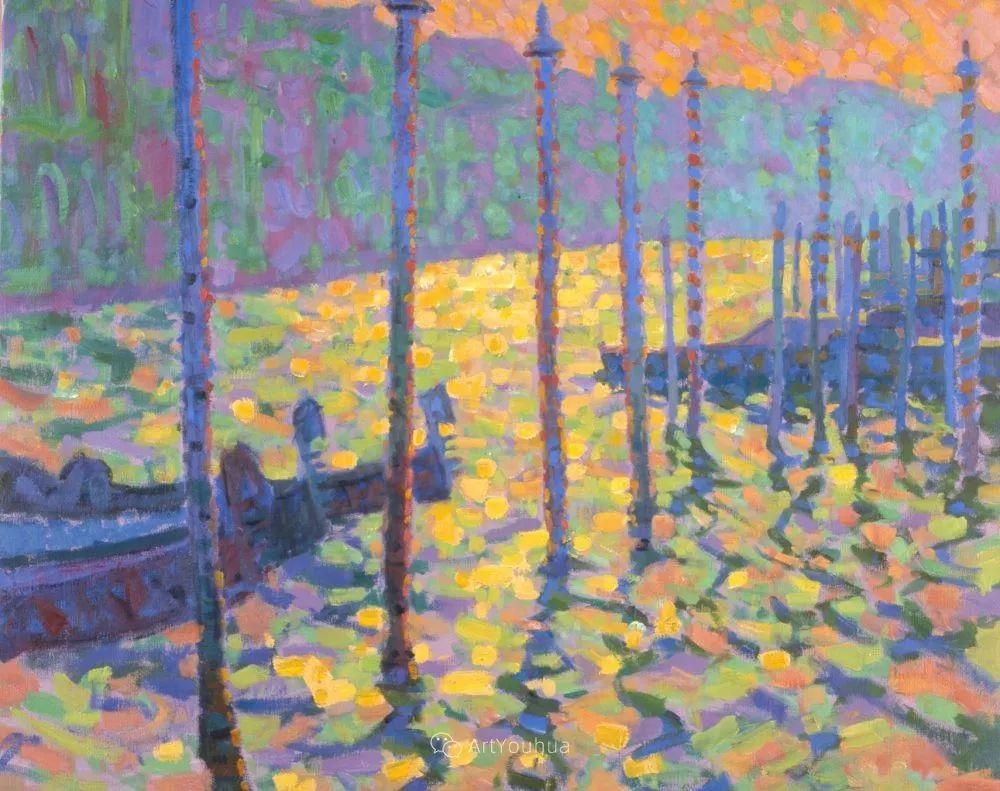 色彩和阳光的交响曲,英国著名浪漫主义画家:雨果·格伦维尔 150幅插图138