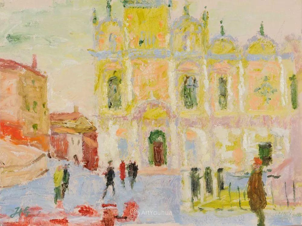 色彩和阳光的交响曲,英国著名浪漫主义画家:雨果·格伦维尔 150幅插图145