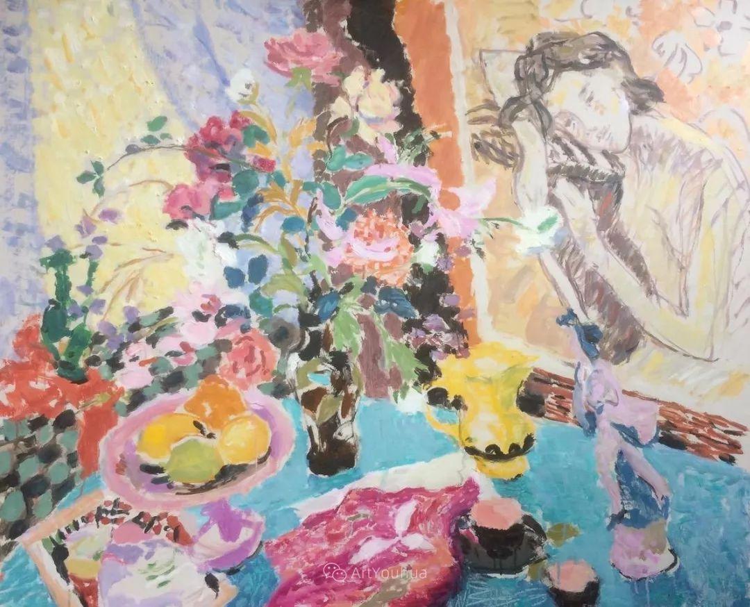 色彩和阳光的交响曲,英国著名浪漫主义画家:雨果·格伦维尔 150幅插图148
