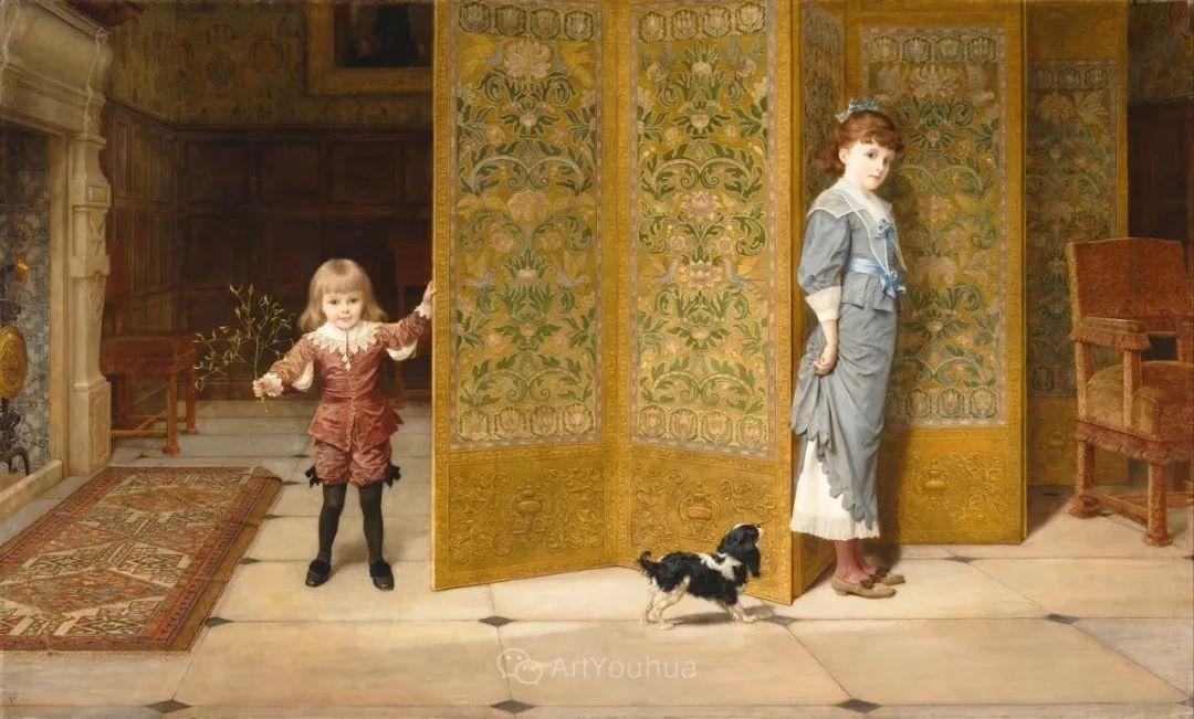 英国艺术家:弗雷德里克·古道尔 (1822-1904)插图7