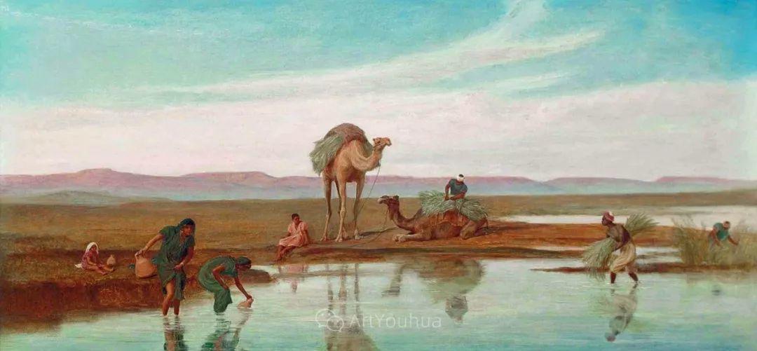 英国艺术家:弗雷德里克·古道尔 (1822-1904)插图8