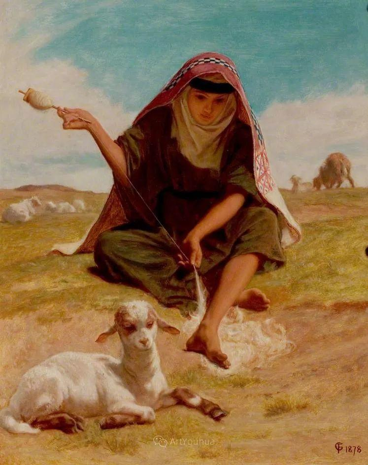 英国艺术家:弗雷德里克·古道尔 (1822-1904)插图10
