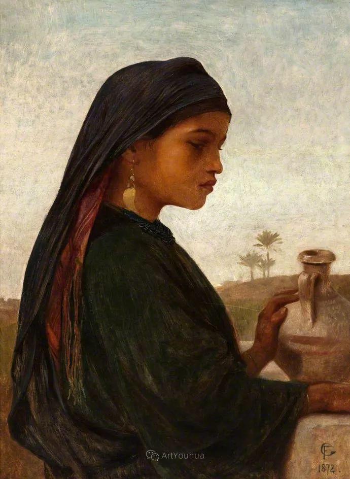 英国艺术家:弗雷德里克·古道尔 (1822-1904)插图14