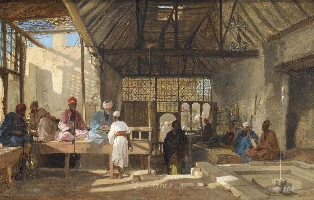 英国艺术家:弗雷德里克·古道尔 (1822-1904)插图15