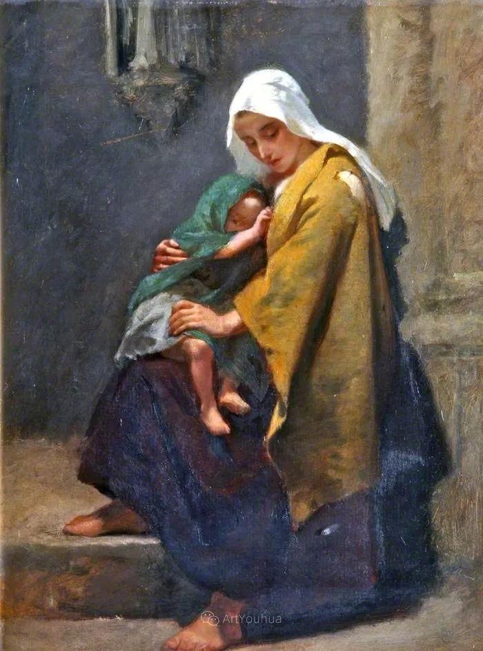 英国艺术家:弗雷德里克·古道尔 (1822-1904)插图19