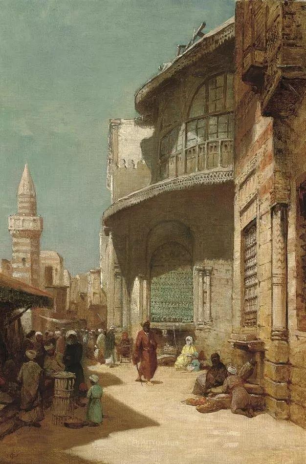 英国艺术家:弗雷德里克·古道尔 (1822-1904)插图22