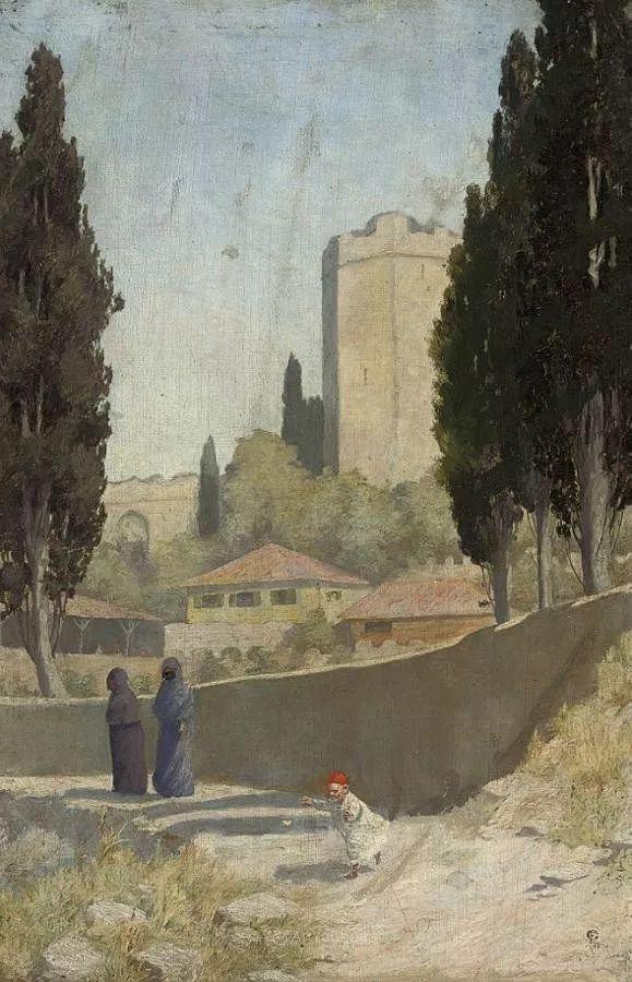 英国艺术家:弗雷德里克·古道尔 (1822-1904)插图24