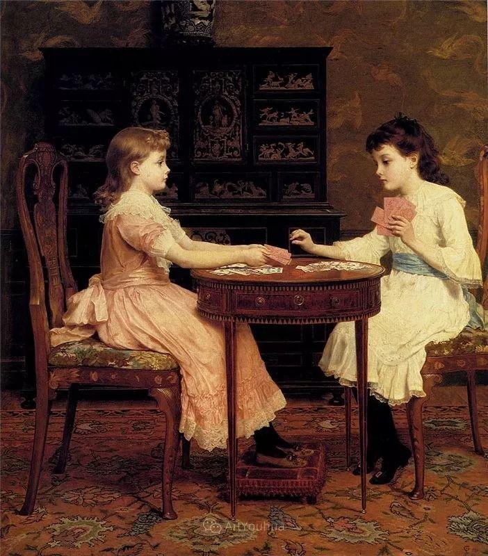 英国艺术家:弗雷德里克·古道尔 (1822-1904)插图25