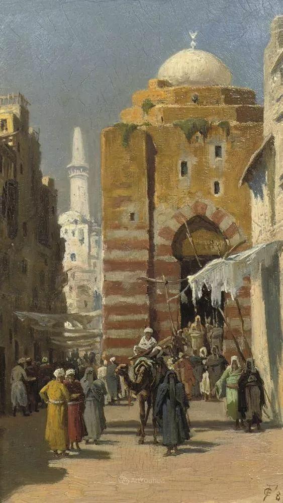 英国艺术家:弗雷德里克·古道尔 (1822-1904)插图26